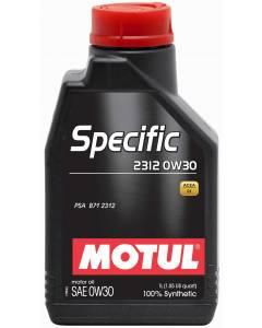 Huile SPECIFIC 2312 0W30 1L (bidon) MOTUL