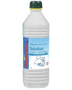 Solution désinfectante hydro-alcoolique MIEUXA 1L
