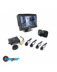 Kit radar + caméra de recul + écran 5'' BEEPER RVU-5R1W VUL
