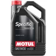 Huile Motul SPECIFIC 504 00 507 00 5W30 5L (bidon)