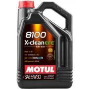 Huile Motul 8100 X-CLEAN EFE5W30 5L (bidon)