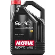 Huile Motul Specific 508 509 0W20 5L (bidon)