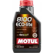 Huile Motul 8100 ECO-LITE 0W20 1L (bidon)