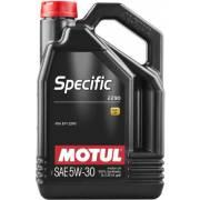 Huile Motul SPECIFIC 2290 5W30 5L (bidon)