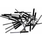 Rivets éclatés 4x20 noirs (x250)
