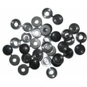 Cache-rivets noirs (x250)