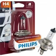 1 ampoule H4 24V PHILIPS (blister) (13342MDB1)