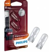 2 ampoules W5W 24V PHILIPS (blister) (13961B2)