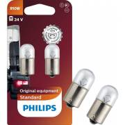 2 ampoules R10W 24V PHILIPS (blister) (13814B2)