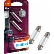 2 ampoules C5W 24V PHILIPS (blister) (13844B2)