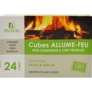Cubes allume feu (x24)