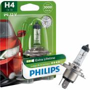 1 ampoule H4 LL Ecovision PHILIPS (blister) (12342LLECOB1)