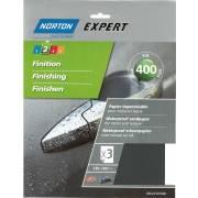 Abrasif eau 400 NORTON (3 feuilles 230x280)