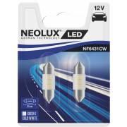 2 lampes retrofit direct LED 12V NEOLUX navette 31mm