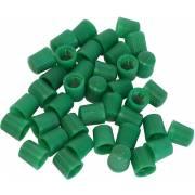 Bouchons de valve verts (azote) (x100)