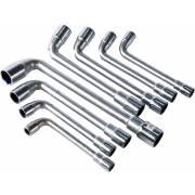 Clés à pipe 8-17mm  (lot de 8)
