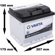 Batterie VARTA Black Dynamic 41Ah / 360A (A17)