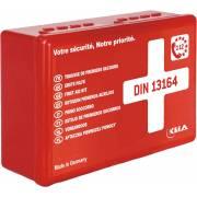 Coffret de premiers secours norme DIN 13164