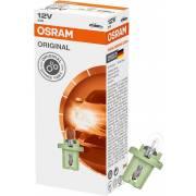 1 lampe 12V tableau de bord Original OSRAM (carton)(2722MFX)