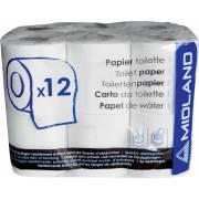 Papier toilette MIDLAND pour camping car (x12 rouleaux)