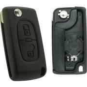 CP278B-PSA278 - Coque compatible Peugeot/Citroën 2 boutons