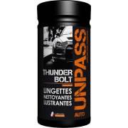 Boite de 80 lingettes + Microfibre UNPASS (Etui/fourreau)