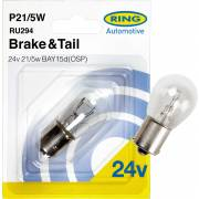 1 ampoule P21/5W 24V RING (blister)