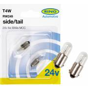 2 ampoules T4W 24V RING (blister)