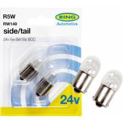 2 ampoules R5W 24V RING (blister)