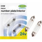 2 ampoules C5W 24V RING (blister)