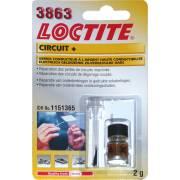 Vernis argent haute conductibilité LOCTITE 3863 Circuit + 2g