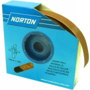 Rouleau de toile Emeri 38mm x 25m NORTON 120