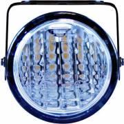 Feux de jour/nuit DRL/NSL ronds 1 LED 3W (x2)