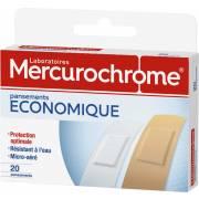 Pansements Mercurochrome (x20)