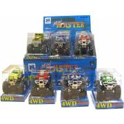 Mini Monster Truck (assortiment) (display)