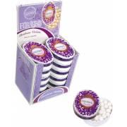 Boîte ovale 50g violette Bonbons ANIS DE FLAVIGNY