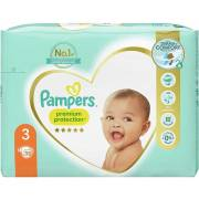 Couche Premium Protect Taille 3 (x35) PAMPERS