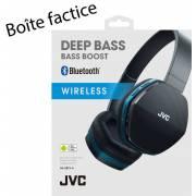 Boîte factice pour casque JVC Bluetooth HA-SBT5-A-E