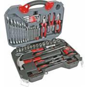 Mallette outils chrome vanadium 78 pièces PEREL