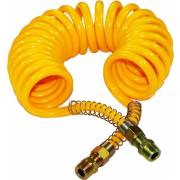 Spirale à air jaune