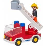 Camion de pompier avec échelle pivotante PLAYMOBIL