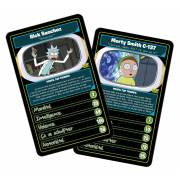 Jeu de bataille Rick et Morty TOP TRUMPS