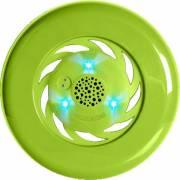 Frisbee à led avec enceinte intégrée vert