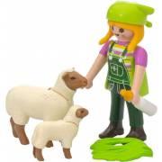 Fermière avec moutons PLAYMOBIL