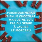 149 Magnet J'abandonnerais bien le chocolat