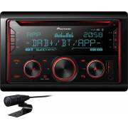 Autoradio double DIN DAB+/CD/USB/BT PIONEER FH-S820DAB