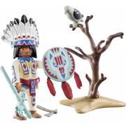 Chef de tribu autochtone PLAYMOBIL