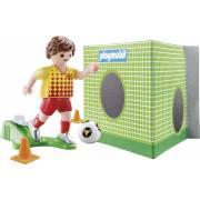 Joueur de foot et but PLAYMOBIL