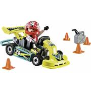 Valisette Pilote de karting PLAYMOBIL