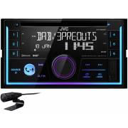 Autoradio double DIN CD/DAB+/USB/Bluetooth JVC KW-DB93BT